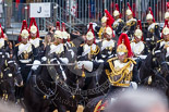 Trooping the Colour 2015. Image #560, 13 June 2015 11:54 Horse Guards Parade, London, UK