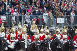 Trooping the Colour 2015. Image #596, 13 June 2015 11:58 Horse Guards Parade, London, UK