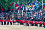 Trooping the Colour 2015. Image #611, 13 June 2015 11:58 Horse Guards Parade, London, UK
