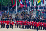 Trooping the Colour 2015. Image #612, 13 June 2015 11:58 Horse Guards Parade, London, UK