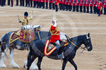 Trooping the Colour 2015. Image #616, 13 June 2015 11:59 Horse Guards Parade, London, UK