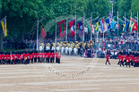 Trooping the Colour 2015. Image #636, 13 June 2015 12:03 Horse Guards Parade, London, UK