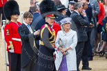 Trooping the Colour 2015. Image #686, 13 June 2015 12:14 Horse Guards Parade, London, UK