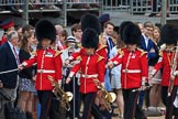 during The Colonel's Review {iptcyear4} (final rehearsal for Trooping the Colour, The Queen's Birthday Parade)  at Horse Guards Parade, Westminster, London, 2 June 2018, 10:04.