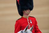 during The Colonel's Review {iptcyear4} (final rehearsal for Trooping the Colour, The Queen's Birthday Parade)  at Horse Guards Parade, Westminster, London, 2 June 2018, 10:06.