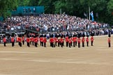 during The Colonel's Review {iptcyear4} (final rehearsal for Trooping the Colour, The Queen's Birthday Parade)  at Horse Guards Parade, Westminster, London, 2 June 2018, 10:15.