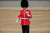 during The Colonel's Review {iptcyear4} (final rehearsal for Trooping the Colour, The Queen's Birthday Parade)  at Horse Guards Parade, Westminster, London, 2 June 2018, 10:20.