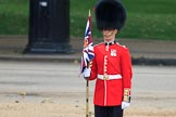during The Colonel's Review {iptcyear4} (final rehearsal for Trooping the Colour, The Queen's Birthday Parade)  at Horse Guards Parade, Westminster, London, 2 June 2018, 10:21.