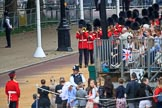 during The Colonel's Review {iptcyear4} (final rehearsal for Trooping the Colour, The Queen's Birthday Parade)  at Horse Guards Parade, Westminster, London, 2 June 2018, 10:23.