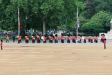 during The Colonel's Review {iptcyear4} (final rehearsal for Trooping the Colour, The Queen's Birthday Parade)  at Horse Guards Parade, Westminster, London, 2 June 2018, 10:25.