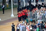 during The Colonel's Review {iptcyear4} (final rehearsal for Trooping the Colour, The Queen's Birthday Parade)  at Horse Guards Parade, Westminster, London, 2 June 2018, 10:27.