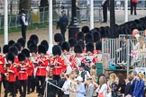 during The Colonel's Review {iptcyear4} (final rehearsal for Trooping the Colour, The Queen's Birthday Parade)  at Horse Guards Parade, Westminster, London, 2 June 2018, 10:30.