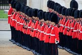 during The Colonel's Review {iptcyear4} (final rehearsal for Trooping the Colour, The Queen's Birthday Parade)  at Horse Guards Parade, Westminster, London, 2 June 2018, 10:35.