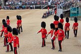 during The Colonel's Review {iptcyear4} (final rehearsal for Trooping the Colour, The Queen's Birthday Parade)  at Horse Guards Parade, Westminster, London, 2 June 2018, 10:38.