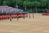 during The Colonel's Review {iptcyear4} (final rehearsal for Trooping the Colour, The Queen's Birthday Parade)  at Horse Guards Parade, Westminster, London, 2 June 2018, 10:39.