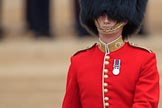 during The Colonel's Review {iptcyear4} (final rehearsal for Trooping the Colour, The Queen's Birthday Parade)  at Horse Guards Parade, Westminster, London, 2 June 2018, 10:40.