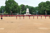during The Colonel's Review {iptcyear4} (final rehearsal for Trooping the Colour, The Queen's Birthday Parade)  at Horse Guards Parade, Westminster, London, 2 June 2018, 10:42.