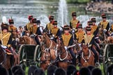 during The Colonel's Review {iptcyear4} (final rehearsal for Trooping the Colour, The Queen's Birthday Parade)  at Horse Guards Parade, Westminster, London, 2 June 2018, 10:46.