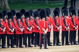 during The Colonel's Review {iptcyear4} (final rehearsal for Trooping the Colour, The Queen's Birthday Parade)  at Horse Guards Parade, Westminster, London, 2 June 2018, 10:47.