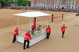 during The Colonel's Review {iptcyear4} (final rehearsal for Trooping the Colour, The Queen's Birthday Parade)  at Horse Guards Parade, Westminster, London, 2 June 2018, 10:51.