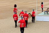 during The Colonel's Review {iptcyear4} (final rehearsal for Trooping the Colour, The Queen's Birthday Parade)  at Horse Guards Parade, Westminster, London, 2 June 2018, 10:53.