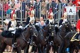 during The Colonel's Review {iptcyear4} (final rehearsal for Trooping the Colour, The Queen's Birthday Parade)  at Horse Guards Parade, Westminster, London, 2 June 2018, 10:56.