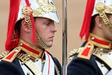 during The Colonel's Review {iptcyear4} (final rehearsal for Trooping the Colour, The Queen's Birthday Parade)  at Horse Guards Parade, Westminster, London, 2 June 2018, 10:58.