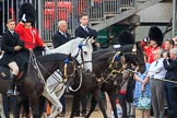 during The Colonel's Review {iptcyear4} (final rehearsal for Trooping the Colour, The Queen's Birthday Parade)  at Horse Guards Parade, Westminster, London, 2 June 2018, 10:59.