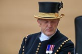 during The Colonel's Review {iptcyear4} (final rehearsal for Trooping the Colour, The Queen's Birthday Parade)  at Horse Guards Parade, Westminster, London, 2 June 2018, 11:00.