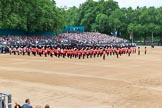 during The Colonel's Review {iptcyear4} (final rehearsal for Trooping the Colour, The Queen's Birthday Parade)  at Horse Guards Parade, Westminster, London, 2 June 2018, 11:03.