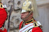 during The Colonel's Review {iptcyear4} (final rehearsal for Trooping the Colour, The Queen's Birthday Parade)  at Horse Guards Parade, Westminster, London, 2 June 2018, 11:04.