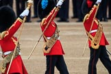 during The Colonel's Review {iptcyear4} (final rehearsal for Trooping the Colour, The Queen's Birthday Parade)  at Horse Guards Parade, Westminster, London, 2 June 2018, 11:08.