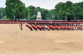 during The Colonel's Review {iptcyear4} (final rehearsal for Trooping the Colour, The Queen's Birthday Parade)  at Horse Guards Parade, Westminster, London, 2 June 2018, 11:12.