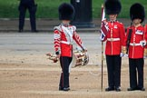 during The Colonel's Review {iptcyear4} (final rehearsal for Trooping the Colour, The Queen's Birthday Parade)  at Horse Guards Parade, Westminster, London, 2 June 2018, 11:13.
