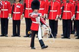during The Colonel's Review {iptcyear4} (final rehearsal for Trooping the Colour, The Queen's Birthday Parade)  at Horse Guards Parade, Westminster, London, 2 June 2018, 11:15.