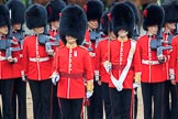 during The Colonel's Review {iptcyear4} (final rehearsal for Trooping the Colour, The Queen's Birthday Parade)  at Horse Guards Parade, Westminster, London, 2 June 2018, 11:16.
