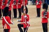 during The Colonel's Review {iptcyear4} (final rehearsal for Trooping the Colour, The Queen's Birthday Parade)  at Horse Guards Parade, Westminster, London, 2 June 2018, 11:20.