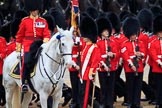 during The Colonel's Review {iptcyear4} (final rehearsal for Trooping the Colour, The Queen's Birthday Parade)  at Horse Guards Parade, Westminster, London, 2 June 2018, 11:27.