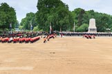 during The Colonel's Review {iptcyear4} (final rehearsal for Trooping the Colour, The Queen's Birthday Parade)  at Horse Guards Parade, Westminster, London, 2 June 2018, 11:32.