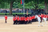 during The Colonel's Review {iptcyear4} (final rehearsal for Trooping the Colour, The Queen's Birthday Parade)  at Horse Guards Parade, Westminster, London, 2 June 2018, 11:33.