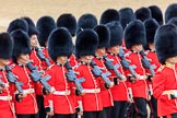 during The Colonel's Review {iptcyear4} (final rehearsal for Trooping the Colour, The Queen's Birthday Parade)  at Horse Guards Parade, Westminster, London, 2 June 2018, 11:39.