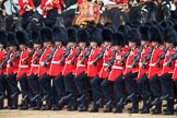 during The Colonel's Review {iptcyear4} (final rehearsal for Trooping the Colour, The Queen's Birthday Parade)  at Horse Guards Parade, Westminster, London, 2 June 2018, 11:42.