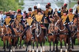 during The Colonel's Review {iptcyear4} (final rehearsal for Trooping the Colour, The Queen's Birthday Parade)  at Horse Guards Parade, Westminster, London, 2 June 2018, 11:43.