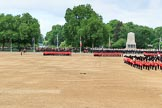 during The Colonel's Review {iptcyear4} (final rehearsal for Trooping the Colour, The Queen's Birthday Parade)  at Horse Guards Parade, Westminster, London, 2 June 2018, 11:52.