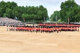 during The Colonel's Review {iptcyear4} (final rehearsal for Trooping the Colour, The Queen's Birthday Parade)  at Horse Guards Parade, Westminster, London, 2 June 2018, 11:54.