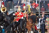 during The Colonel's Review {iptcyear4} (final rehearsal for Trooping the Colour, The Queen's Birthday Parade)  at Horse Guards Parade, Westminster, London, 2 June 2018, 11:55.