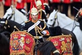 during The Colonel's Review {iptcyear4} (final rehearsal for Trooping the Colour, The Queen's Birthday Parade)  at Horse Guards Parade, Westminster, London, 2 June 2018, 11:56.