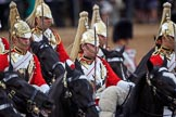 during The Colonel's Review {iptcyear4} (final rehearsal for Trooping the Colour, The Queen's Birthday Parade)  at Horse Guards Parade, Westminster, London, 2 June 2018, 11:59.