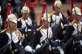 during The Colonel's Review {iptcyear4} (final rehearsal for Trooping the Colour, The Queen's Birthday Parade)  at Horse Guards Parade, Westminster, London, 2 June 2018, 12:02.