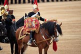 during The Colonel's Review {iptcyear4} (final rehearsal for Trooping the Colour, The Queen's Birthday Parade)  at Horse Guards Parade, Westminster, London, 2 June 2018, 12:03.